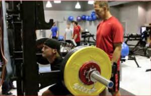 Gary at gym